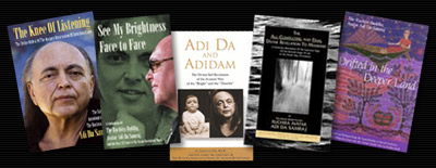 books about Adi Da and Adidam